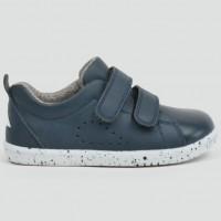 Childrens Footwear Bobux I-Walk Grasscourt Sneaker in Navy